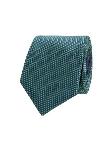 Zielony jedwab krawat wąskie cięcie wąskie cięcie Jake*s