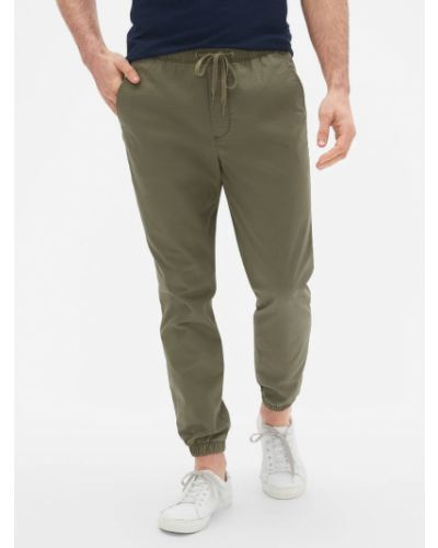 Спортивные брюки - зеленые Gap