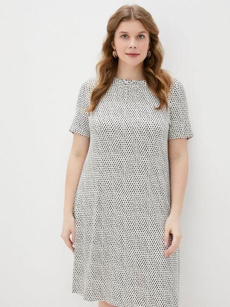 Белое повседневное платье Marks & Spencer