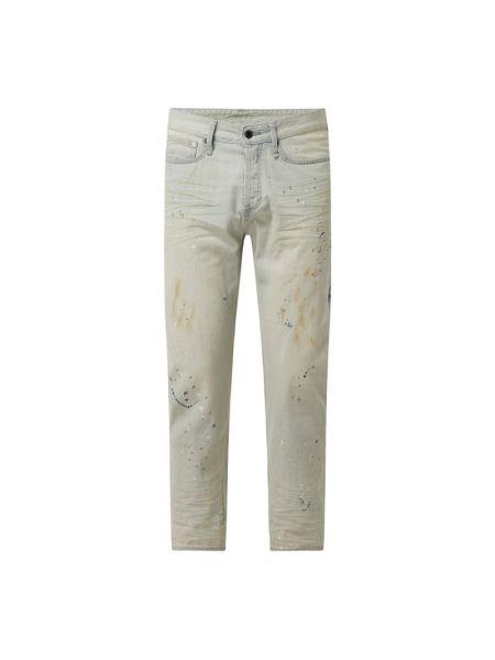 Beżowe mom jeans Denham