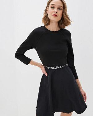 Джинсовое платье прямое Calvin Klein Jeans