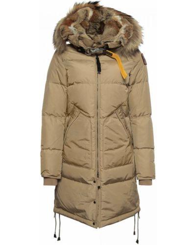 Текстильная бежевая куртка Parajumpers