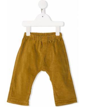 Żółte spodnie bawełniane Aletta