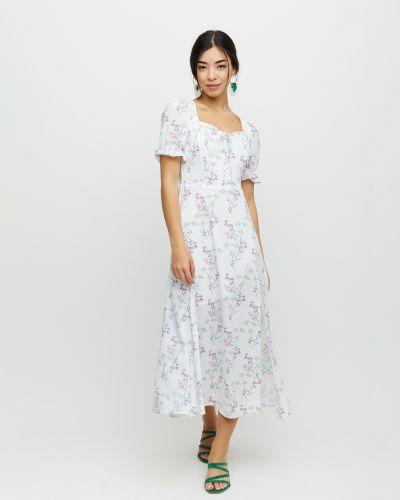 Приталенное платье с вырезом на резинке Cardo