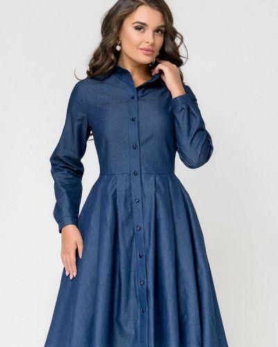 Платье - синее D&m By 1001 Dress