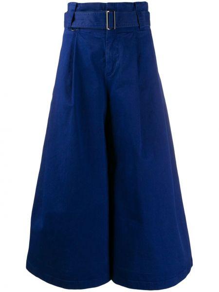 Укороченные брюки - синие A.f.vandevorst
