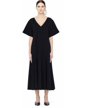 Платье миди с V-образным вырезом кимоно The Row