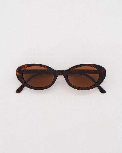 Коричневые солнцезащитные очки Sela