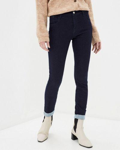 Зауженные джинсы - синие Met