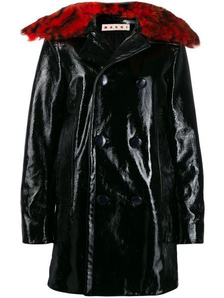 Płaszcz przeciwdeszczowy - czarny Marni
