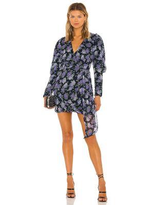 Синее платье на молнии Saylor