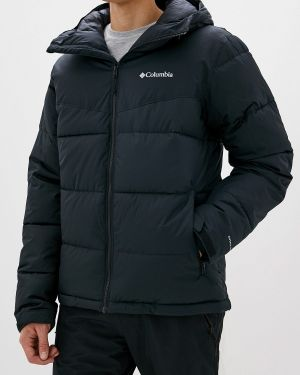 Куртка горнолыжная черная осенняя Columbia
