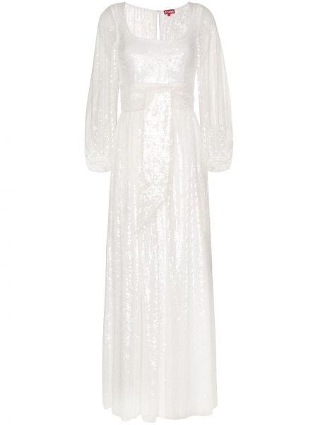 Платье макси с открытой спиной с пайетками Staud