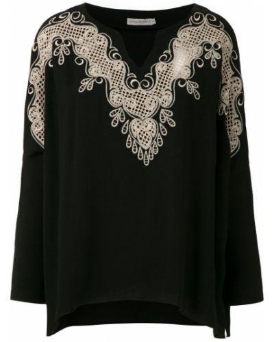 Блузка с длинным рукавом кружевная прямая Martha Medeiros