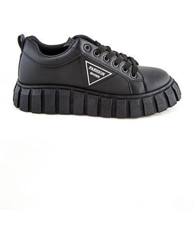 Черные ботинки осенние Meitesi