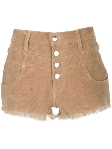 Однобортные шорты с карманами на пуговицах Amiri