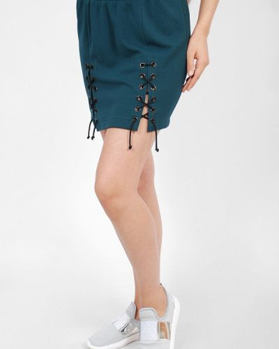 Плиссированная юбка мини Sab