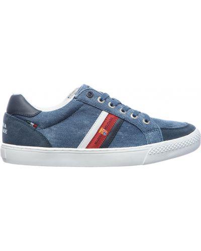 Текстильные кроссовки - синие Marina Militare
