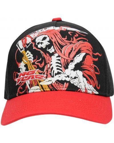 Czarna czapka z daszkiem No Fear