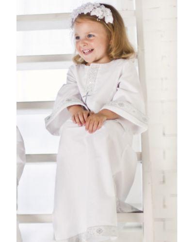 Рубашка белый с декоративной отделкой ангел мой