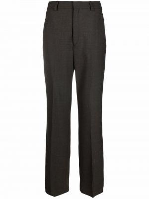 Spodnie wełniane - brązowe Filippa K