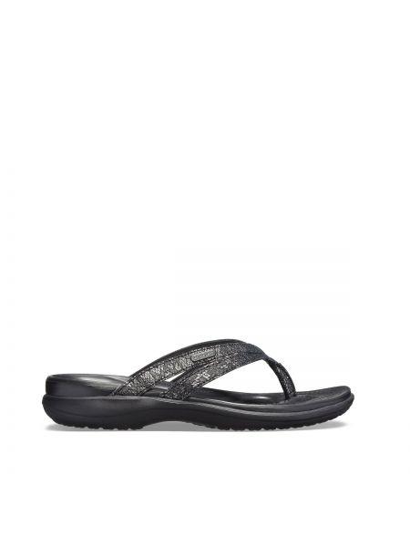 Черные вьетнамки Crocs