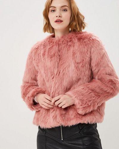 Дубленка розовый Jennyfer