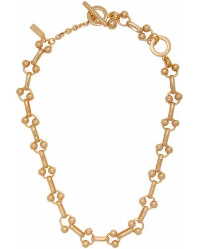Ожерелье золотое для полных Mounser