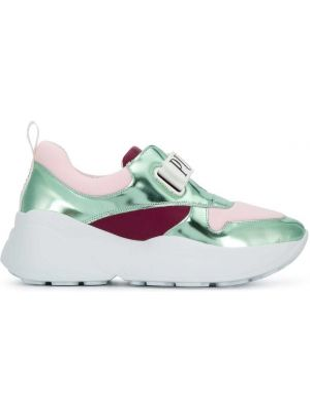 Sneakersy - białe Emilio Pucci