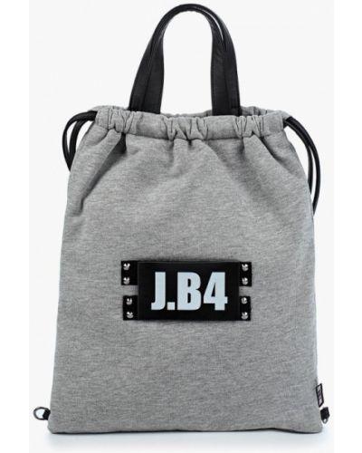 Серый рюкзак итальянский J.b4
