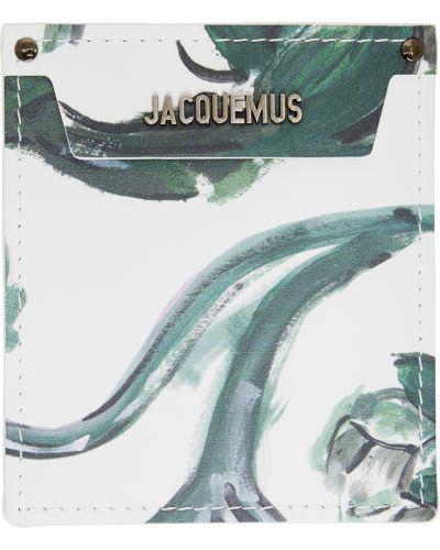Portfel z printem - biały Jacquemus