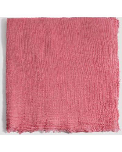 Розовый шарф Mango