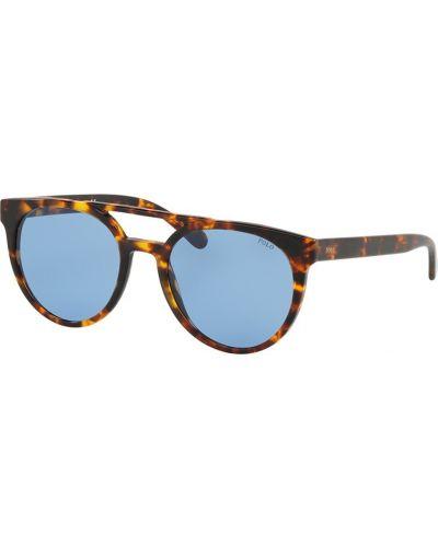 Солнцезащитные очки круглые стеклянные Polo Ralph Lauren