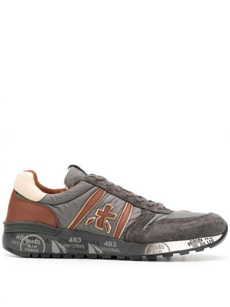 Кроссовки на каблуке на шнуровке Premiata