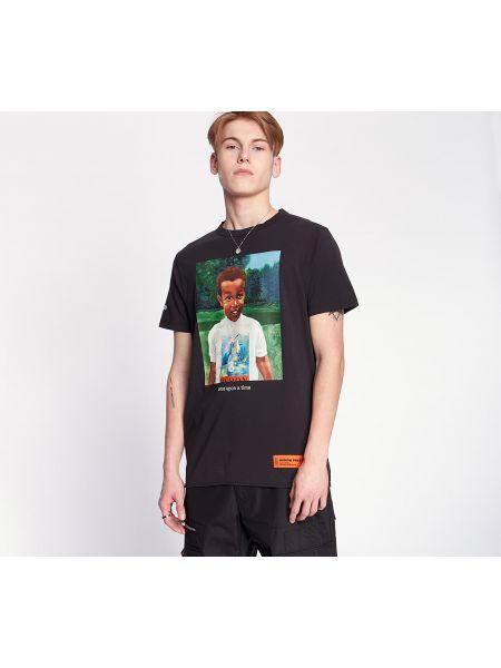 Czarna koszula Heron Preston