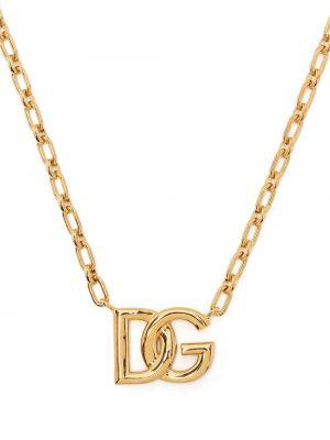 Złoty naszyjnik Dolce And Gabbana
