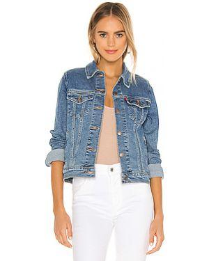Хлопковая облегченная джинсовая куртка с манжетами на пуговицах Levi's®
