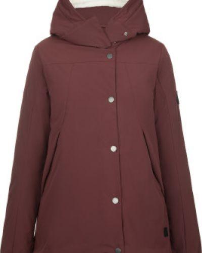 Теплая красная куртка на молнии Outventure