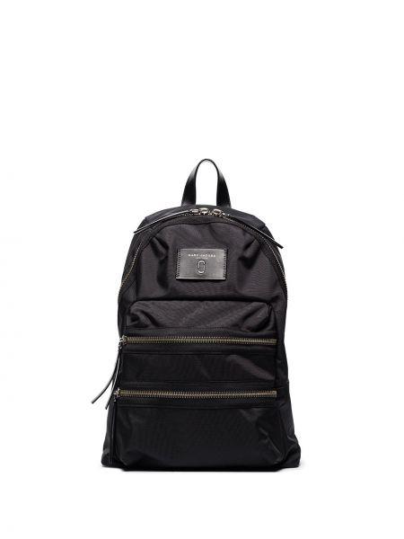 Черная сумка с карманами на молнии Marc Jacobs
