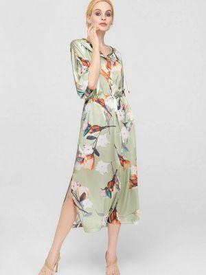 Зеленое платье летнее Lo