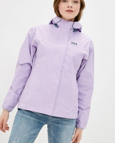 Фиолетовая ветровка Helly Hansen