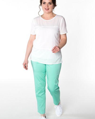 Широкие брюки - мятные Virgi Style