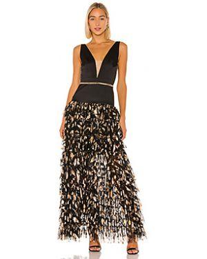Вечернее платье с пайетками с оборками Bronx And Banco