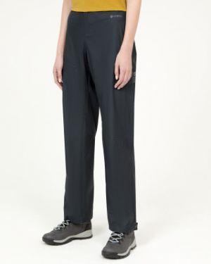 Трекинговые нейлоновые серые брюки туристические Mountain Hardwear