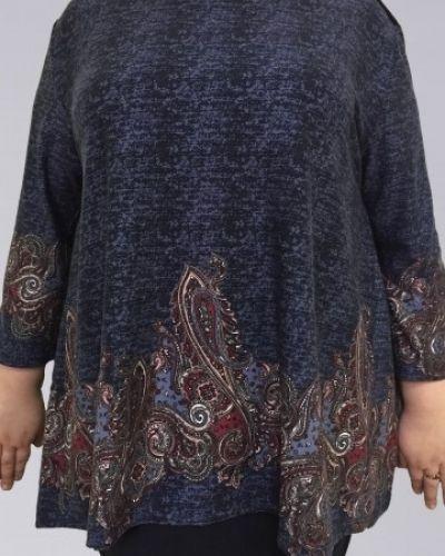 Блузка из вискозы на пуговицах Amarti