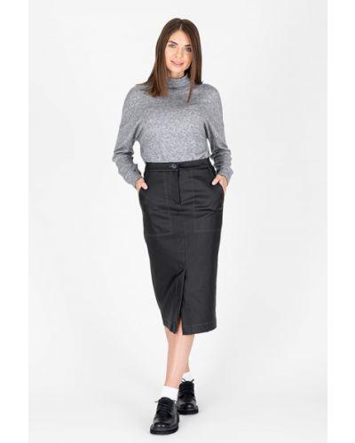 Повседневная юбка миди с карманами с разрезом Eliseeva Olesya