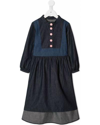 Платье с рукавами на пуговицах Owa Yurika