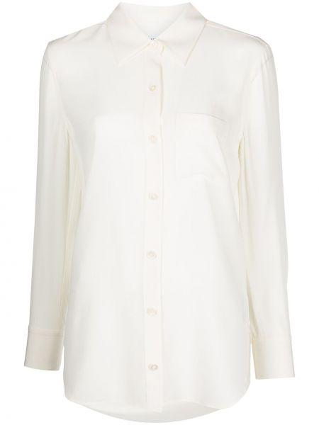 Белая рубашка классическая Equipment