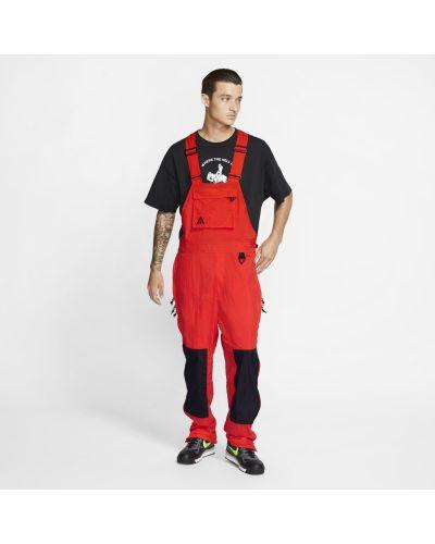 Włókienniczy czerwony kombinezon Nike