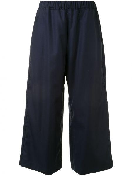 Шерстяные свободные брюки с карманами свободного кроя с высокой посадкой Sofie D'hoore